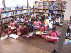 Ugandan Martyrs Primary library
