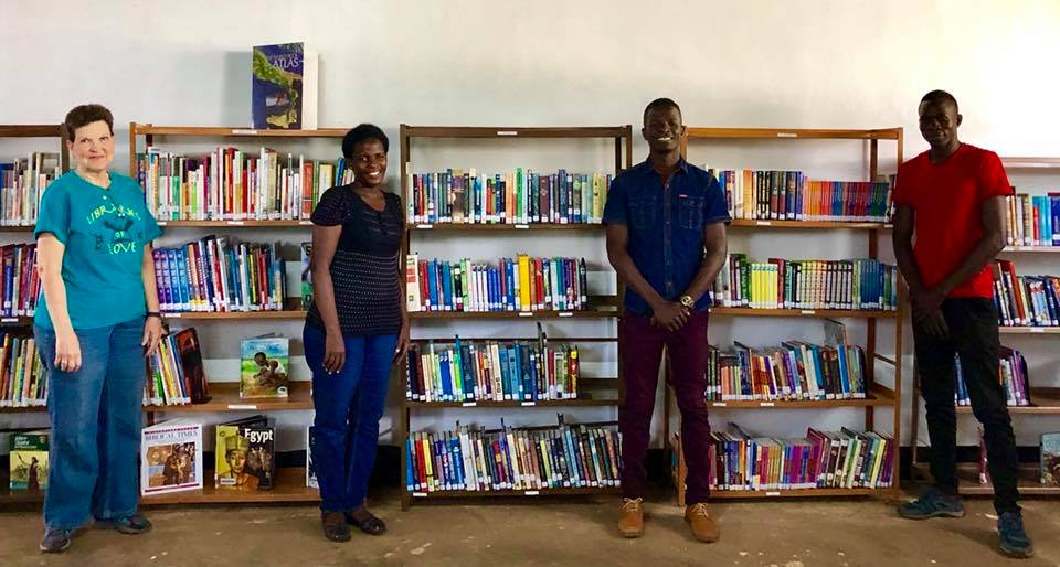 Eagles Nest HS gets new library