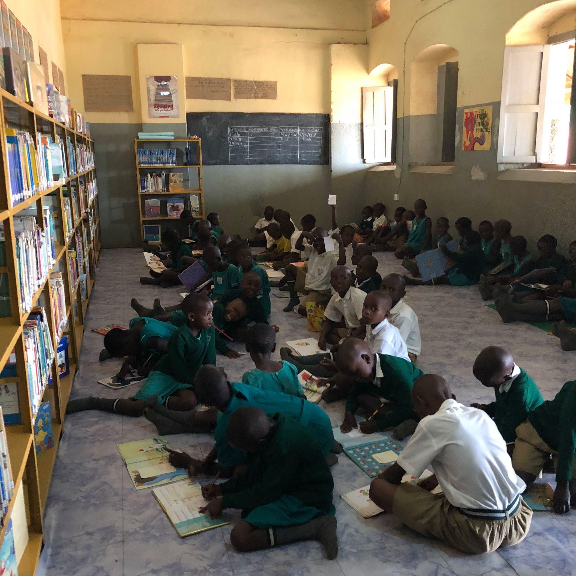 Happy Students Read